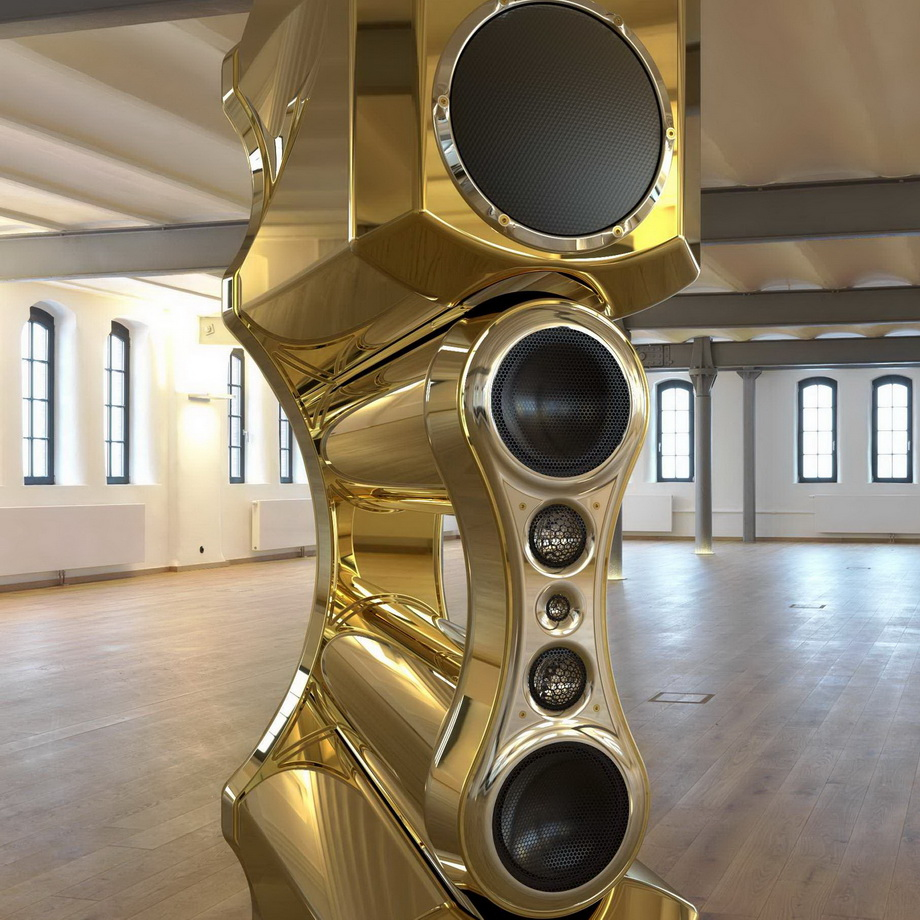 Fusion-one of a kind speaker