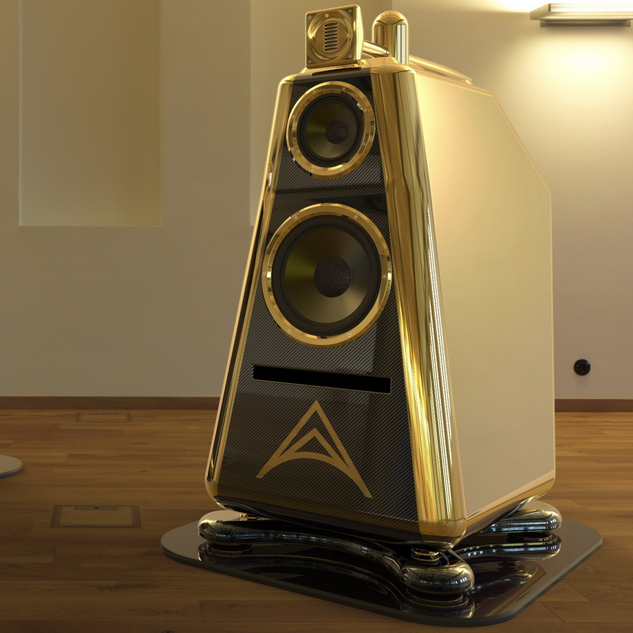 Unicorn floorstanding speaker