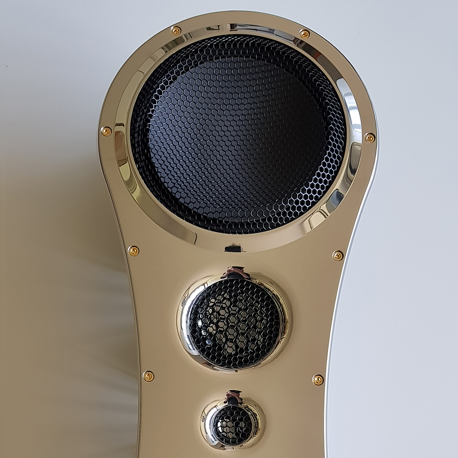 Loudspeaker group-diamond and ceramic.