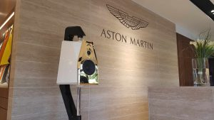 Audiovisual Art and Aston Martin Monaco