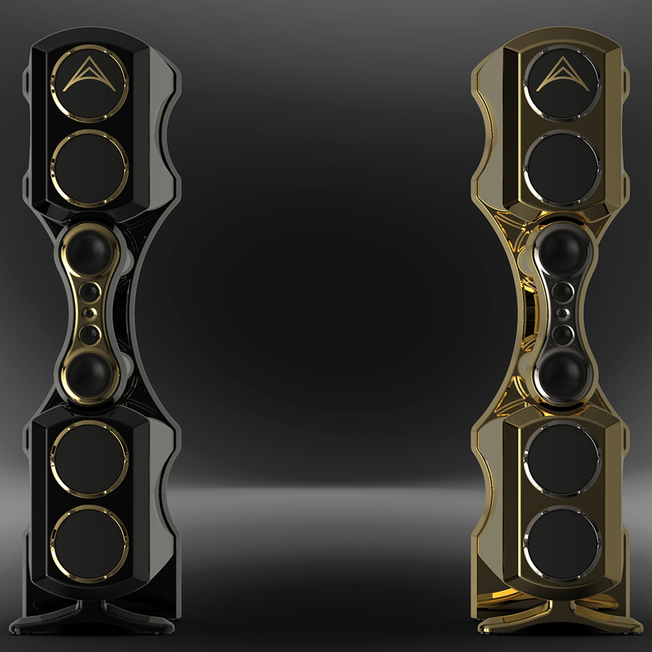 Fusion black chrome and gold