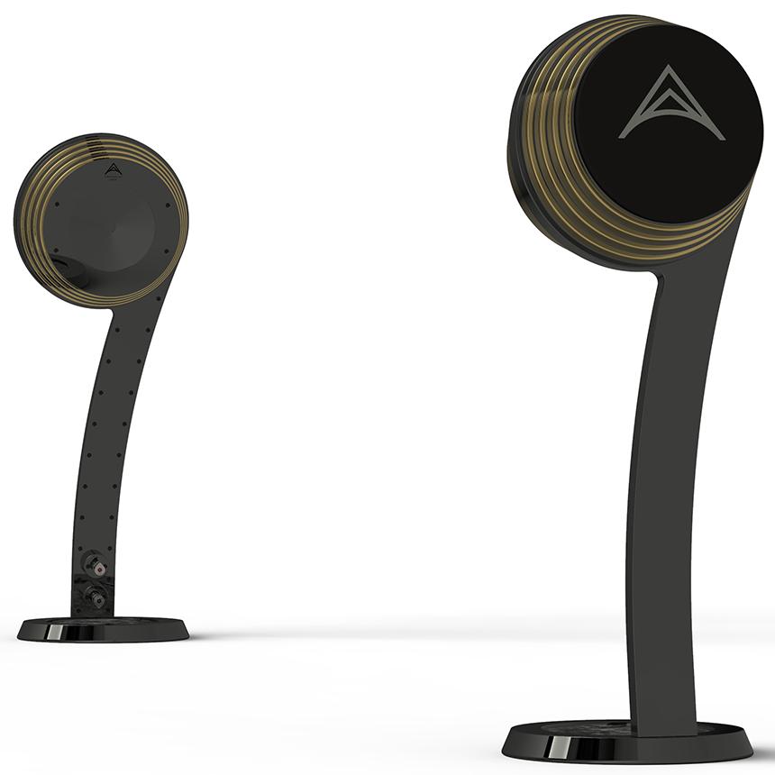 Solid loudspeaker