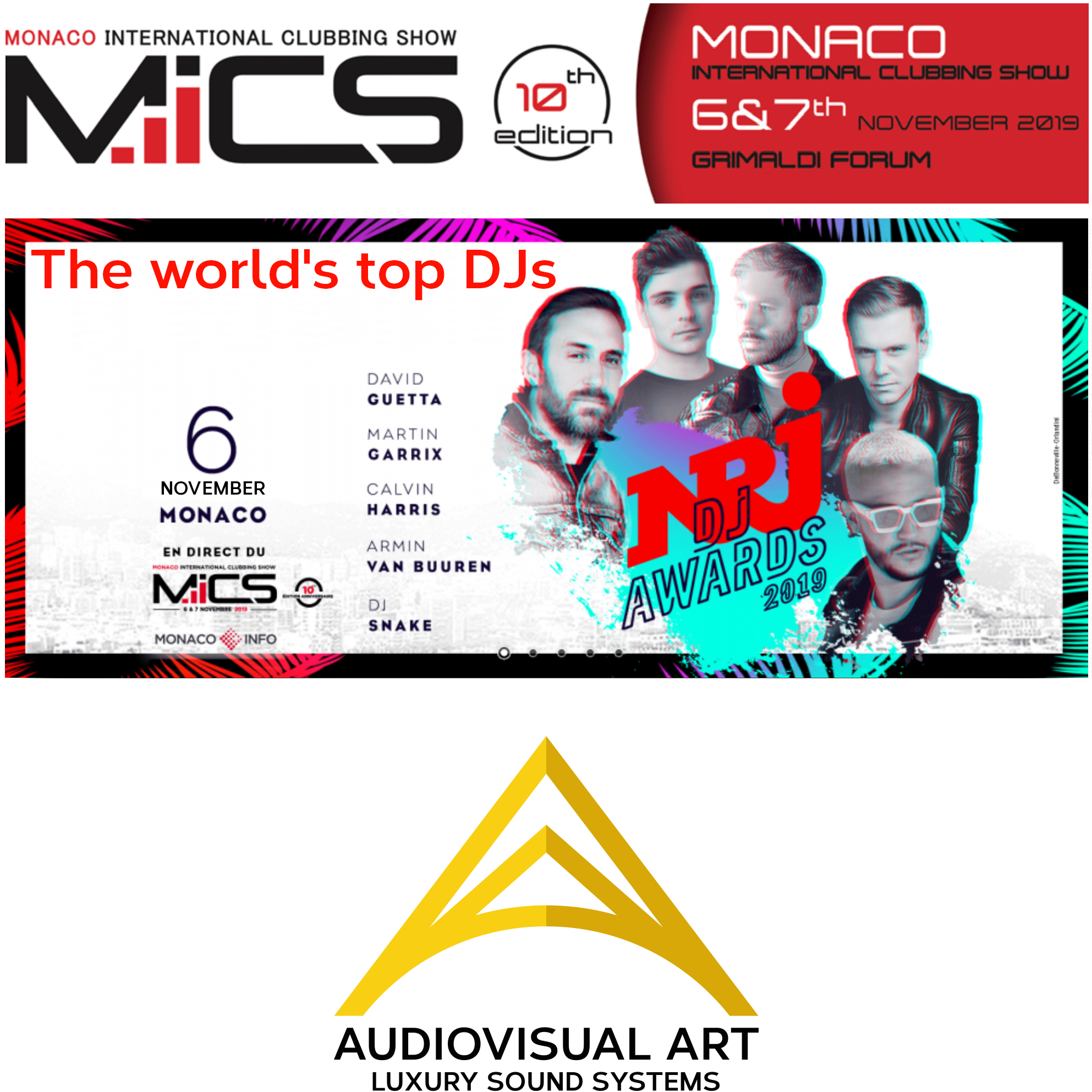 Audiovisual Art - MICS MONACO
